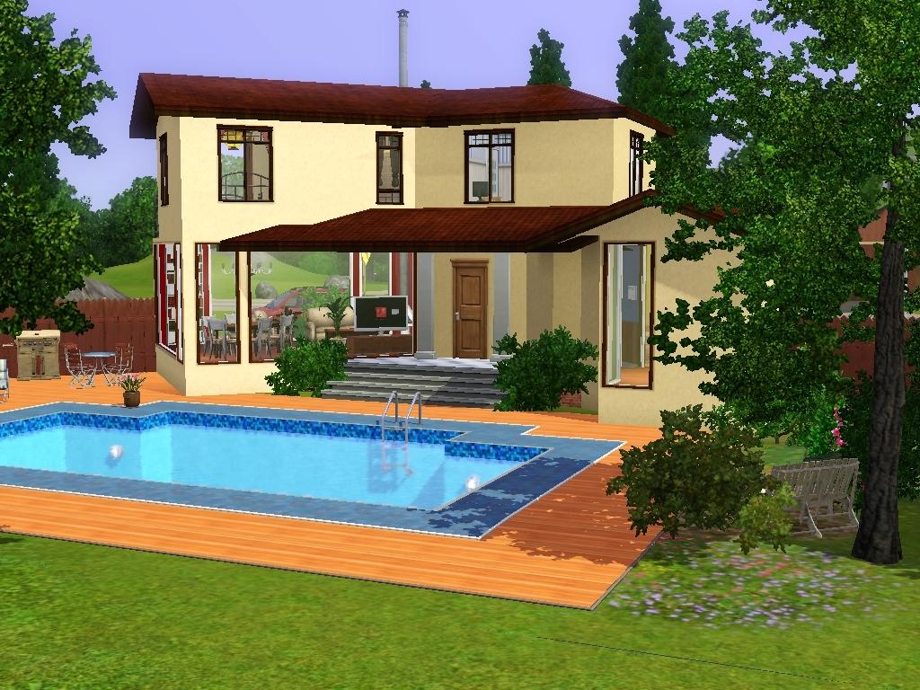Maison De Luxe Moderne Sims 3 – Chaios.com